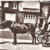 Horse and carriage at Longshaw, circa 1900
