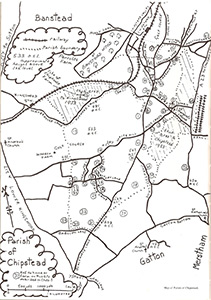 Historic Property Location Map by Charles E Pringle