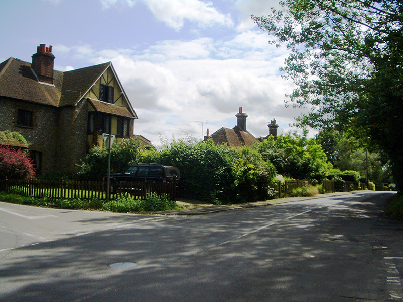 Chipstead post office, Shabden Cottages, 2007
