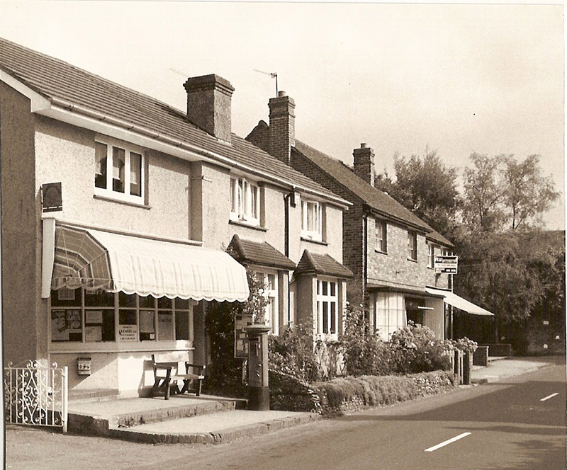 Chipstead post office, High Road, circa 1980